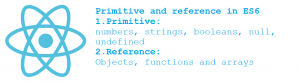 Reference and Primitive Types in ES6